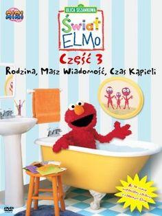 Świat Elmo. Część 3: Rodzina, Masz wiadomość, Czas kąpieli -   Opracowanie zbiorowe , tylko w empik.com: . Przeczytaj recenzję Świat Elmo. Część 3: Rodzina, Masz wiadomość, Czas kąpieli. Zamów dostawę do dowolnego salonu i zapłać przy odbiorze!