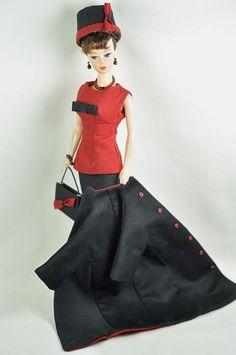 "Ooak Barbie/Silkstone Fashion by P. Linden 8 pc. ""Daytime Drama"""