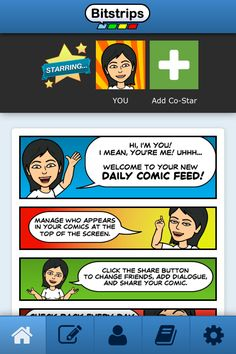 Make Personalized Comics with the Free Bitstrips Comic Builder App: Add Friends (Co-stars)