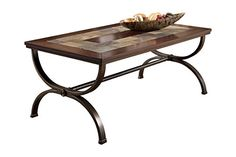 Signature Design by Ashley Zander Rectangular Cocktail Table Medium Brown ** You can find out more details at the link of the image.Note:It is affiliate link to Amazon.