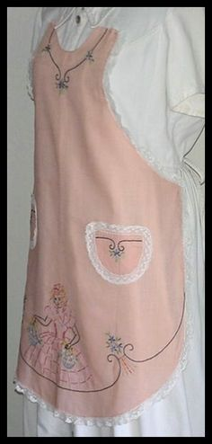pink with embroidery