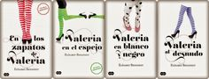 Reseña: Serie En los zapatos de Valeria