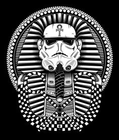"""tiefighters: """" Troopankhamun Shirts available @TeeSpring Created by Neil Hanvey """""""