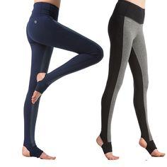 Women Sports Fitness Yoga Pants Knitting Slim Leggings Foot Tights M-3XXL Elastic Trousers