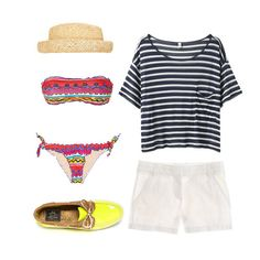 Summer Outfits For Every Occasion. Inspiration for your Hamptons weekend from FabSugar.
