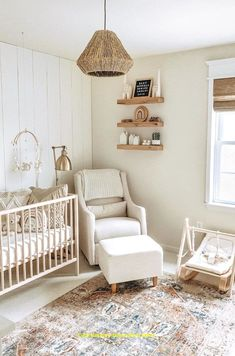 Baby's Room Decoration Models Are Comfortable Boho Style For Your Baby'. Baby's Room Decoration Models Are Comfortable Boho Style For Your Baby'… B Baby Design, Kids Room Design, Nursery Design, Home Design, Design Ideas, Baby Bedroom, Baby Room Decor, Nursery Room, Nursery Decor
