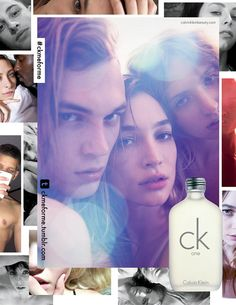 CK one FW 2014 Campaign | Ali Michaels, Dev Hynes, Edie Campbell and more by Mario Sorrenti