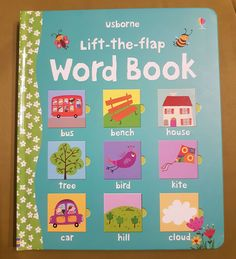 With lots of flaps to lift, this charming book lets young children have fun matching words and pictures. It's the ideal way to give beginner readers practice in word recognition and also provides plenty for pre-readers to find, name and talk about. Nonfiction Activities, Book Activities, Activity Books, Book Tree, Richard Scarry, Book Publishing, William Morris, Kids Learning, Multimedia