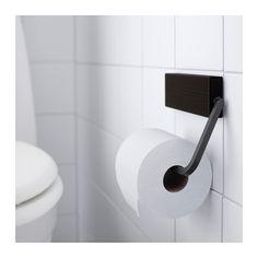 HJÄLMAREN Toilettenpapierhalter - schwarzbraun gebeizt, - - IKEA