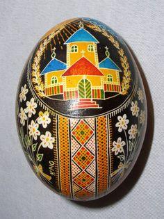 Pysanka art , Писанка Марії Кіращук , Kocmach - Ukraine , from Iryna