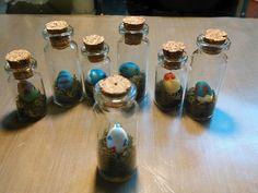 New hand painted Pokemon eggs in a bottle. by KiwiPheonix.deviantart.com on @deviantART