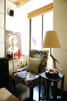 Peek inside a home that's packed full of personal style