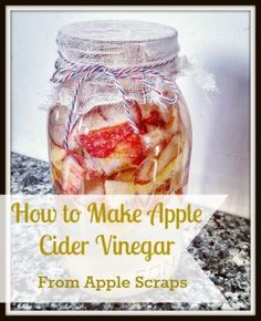 How to make apple cider vinegar. Easy and cost efficient way to make your own apple cider vinegar at home. Apple cider vinegar has so many health benefits, including:  * Great for heart health.  * Rich in malic acid which provides potency against harmful organisms. * Natural heartburn remedy.  * May help joint discomfort.  * Supports normal metabolic processes.  * Promotes balanced glucose levels.