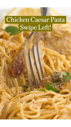 Chicken Pasta Dishes, Easy Pasta Dishes, Chicken Recipes, Italian Dinner Recipes, Pasta Dinner Recipes, Cooking Recipes, Healthy Recipes, Quick Meals, Casseroles