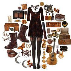 Goth style 760475087063740686 - Autumn / goth style Autumn / goth style Source by Hippie Goth, Hippie Stil, Estilo Hippie, Goth Stil, Autumn Look, Autumn Style, Boho Outfits, Fall Outfits, Cute Outfits
