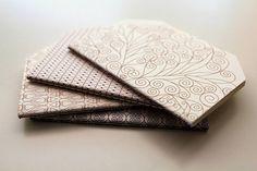 Cadernos artesanais da 1/1 - lembrancinhas para os convidados