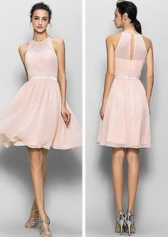 Blush pink bridesmaid dresses, short bridesmaid dresses, chiffon bridesmaid dresses, custom bridesmaid dress, custom bridesmaid dresses, 17064 sold by LoverDresses. Shop more products from LoverDresses on Storenvy, the home of independent small businesses all over the world.
