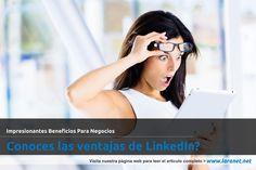 Conoces las ventajas de LinkedIn?Impresionantes Beneficios Para Negocios