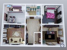 Планировка дома 8 на 8 одноэтажный фото