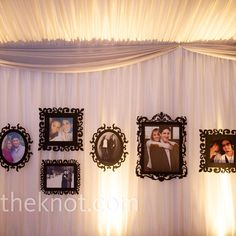 Photo Reception Decor