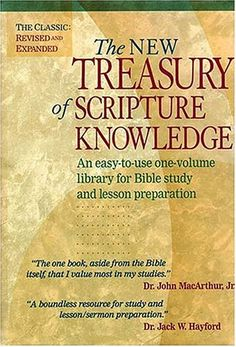 The New Treasury of Scripture Knowledge: An easy-to-use o... https://www.amazon.ca/dp/0840776942/ref=cm_sw_r_pi_dp_x_nrmFybMB64GYV
