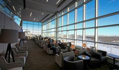 """""""Easy to slam Edmonton if you don't get to know the town. Airport Lounge Access, International Airport, Travel Style, Four Square, Furniture, Canada, Home Decor, Image, Lounges"""