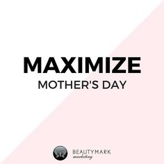 """Read my latest blog Maximize Mother's Day from link in my bio 👆🏻In North America Mother's Day is one of the biggest """"gift giving"""" 🛍🎁 holidays of the year. Salons and spas are perfect businesses to benefit from a Mother's Day promotion that translates services and retail products into great Mother's Day salon or spa packages. Remind consumers that gift cards, service packages and pampering retail products make memorable gifts for moms, grandmothers, aunts, wives and daughters… Salon Promotions, Spa Packages, Memorable Gifts, Aunts, Flirting, Gifts For Mom, Grandmothers, Gift Cards, Salons"""