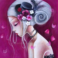 Le+chapeau+fleuri+by+LadySybile.deviantart.com+on+@DeviantArt