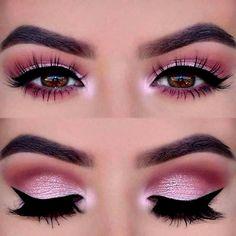 Maquiagem rosa: O rosa é um dos tons preferidos da mulherada na hora de pensar na maquiagem, deixando um resultado cheio de classe e adequado para qualquer impressão desejada. Está a fim de conferir algumas possibilidades? Então venha dar aquela inspiração para a make e veja o passo a passo. #maquiagem #maquiagemrosa #passoapasso #olho #maquiagemiluminada #dicasdebeleza #mulher #dicas #delineado #sombras #antesedepois