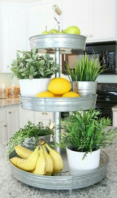 Kitchen Decor 15 Clever Ways to Get Rid of Kitchen Counter Clutter - Glue Sticks and Gumdrops - Tired of messy countertops? We've found 15 easy ways to get rid of kitchen counter clutter. You'll have much more food prep space now! Cocinas Kitchen, Küchen Design, Design Ideas, Store Design, Interior Design, Design Inspiration, Interior Ideas, Interior Modern, Luxury Interior