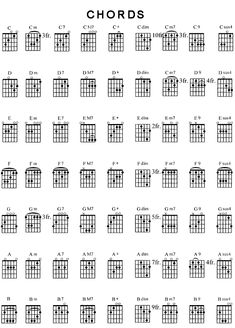 Best Of Stock Printable Guitar Chord Chart Chords Music Power Pdf Guitar Chords And Scales, Guitar Chord Chart, Ukulele Chords, Guitar Tabs, Star Behavior Charts, Behavior Chart Printable, Behaviour Chart, Piano Music Easy, Ant Music