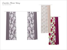 Curtain, size  3 cell  Found in TSR Category 'Sims 4 Curtains & Blinds'