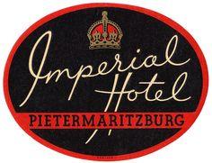 Imperial Hotel ~ Pietermaritzburg RSA
