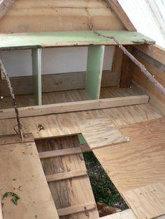 Movable DIY Chicken Coop.