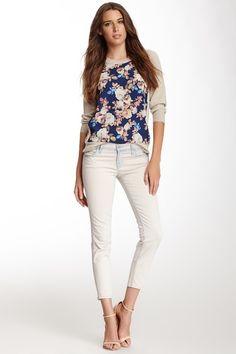 Allegra Low Rise Cropped Jean by J Brand on @HauteLook