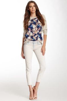 Allegra Low Rise Cropped Jean by J Brand on @HauteLook