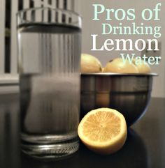 Drink a glass of warm lemon water every morning and see what it does for you!