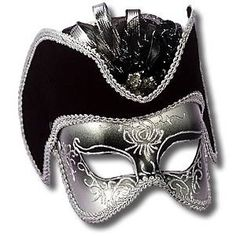 half mask men's silver  DOUG WORE THIS TO MASQUERADE SWING DANCE! :D