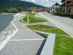 triangular lawn