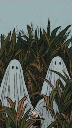 Cute Fall Wallpaper, Halloween Wallpaper Iphone, Halloween Backgrounds, Halloween Icons, Theme Halloween, Halloween Artwork, Vintage Halloween, Arte 8 Bits, Arte Sketchbook