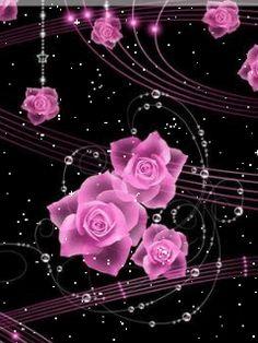 gif flowers and roses | Telugu4u.Net - Flowers - Animations