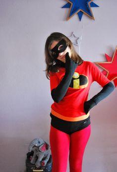 The Incredibles costume, so easy DIY costume. Los Increíbles o cómo hacer un disfraz casero si no te gusta coser!