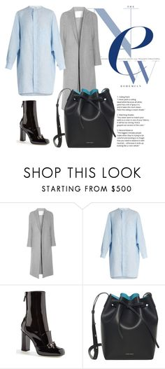 """""""Untitled #259"""" by hibiahclothes ❤ liked on Polyvore featuring ADAM, Acne Studios, Gucci and Mansur Gavriel"""