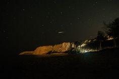Eraclea Minoa - Scogliera con stella cadente