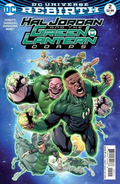 "DC COMICS (W) Robert Venditti (A/CA) Rafael Sandoval, Jordi Tarragona ""Sinestro's Law"" part two! As Sinestro's grip around the universe grows tighter, Guy Gardner takes on the mission to bring the Gre"