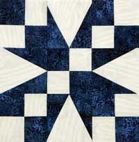 Free Block Pattern: Ooh-Rah by Lori Baker Block 8