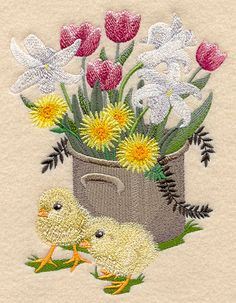 Machine Embroidery Machine Embroidery Designs at Embroidery Library! Machine Embroidery Projects, Machine Embroidery Applique, Free Machine Embroidery Designs, Cross Stitch Embroidery, Viking Embroidery, Ribbon Embroidery Tutorial, Embroidery Monogram, Embroidery Ideas, Kantha Quilt