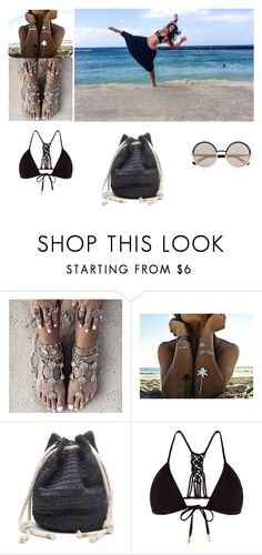 """""""Wandering Gypsy"""" by buddhapants ❤ liked on Polyvore featuring Flash Tattoos, Banana Republic, Monsoon, Marc by Marc Jacobs, travel, gypsy, wanderlust, Yogi and buddhapants"""