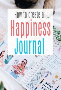 How to create a happiness journal and why journalling for your happiness and emotional wellbeing is such a positive thing to do .   Self-help and self-care tools that are fun too journals are a lovely way to experess and focus on your feelings and emotions #bujo #journal #happiness #wellbeing #abeautifulspace Focus On Yourself, Improve Yourself, Feelings And Emotions, Journalling, Health And Wellbeing, Self Care, Self Help, Bujo, Journals