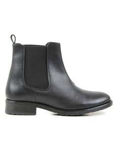 Vegan womens Chelsea boots in black by Wills London - http://wills-vegan-shoes.com/vegan-women-s-flat-chelsea-boots-black.html